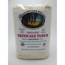 Tricalle Flour Source: http://oregonorganicmill.com